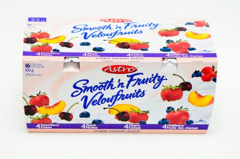 Smooth-n-Fruity Assorted - 16x100g