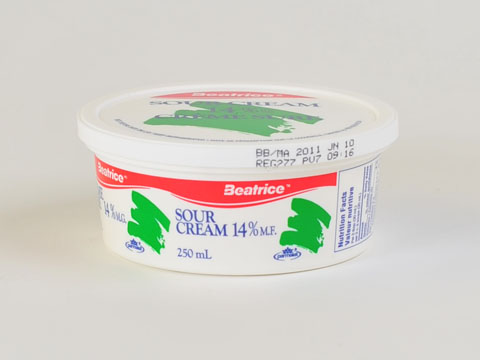 14% Sour Cream - 250mL