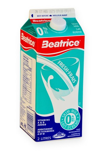 Beatrice Skim Milk - 2L